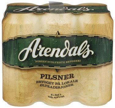 Ringnes Arendals Pilsner 6 x 0,5l, 3 l