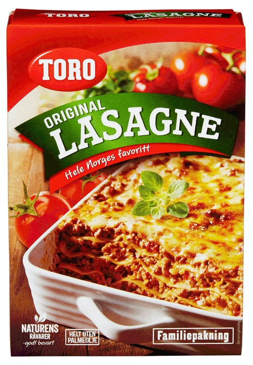 Toro Lasagne Familiepakning 320 g