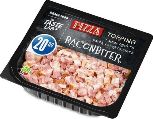 REMA 1000 Bacon Topping 80 g