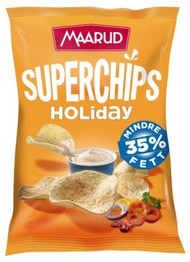 Maarud Superchips Holiday 140 g