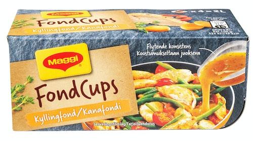 Maggi Fond Cups Kylling 4 stk, 96 g