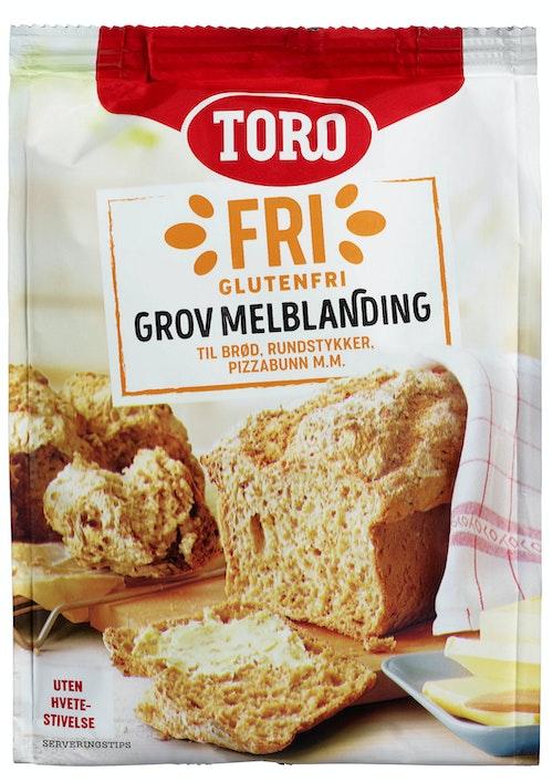 Toro Glutenfri Melblanding Grov, 406 g
