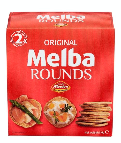 Melba Meulen Melba Toast Rund 110 g
