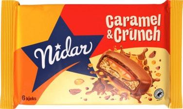 Nidar Nidar Caramel & Crunch 110 g