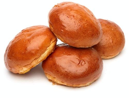 Brødverket Ferske Hveteboller 4 stk