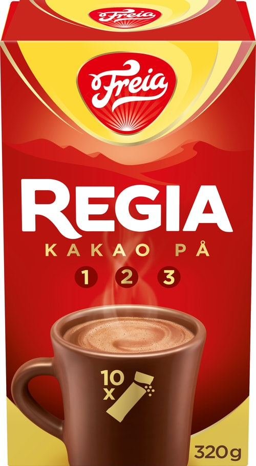 Freia Sjokoladedrikk 10 porsjonspakker, 320 g