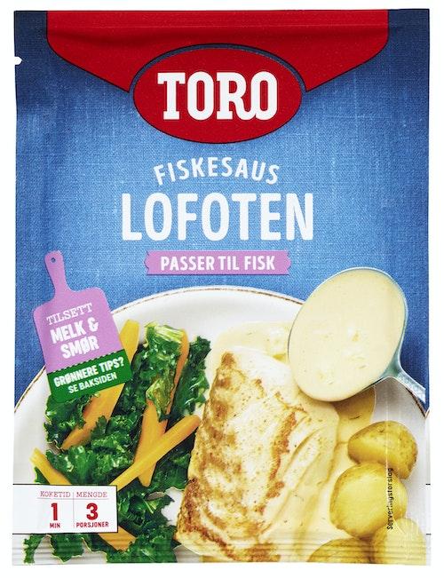 Toro Lofoten fiskesaus 40 g