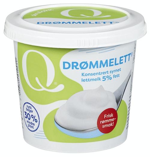 Q-meieriene Q-Drømmelett 5% 300 g