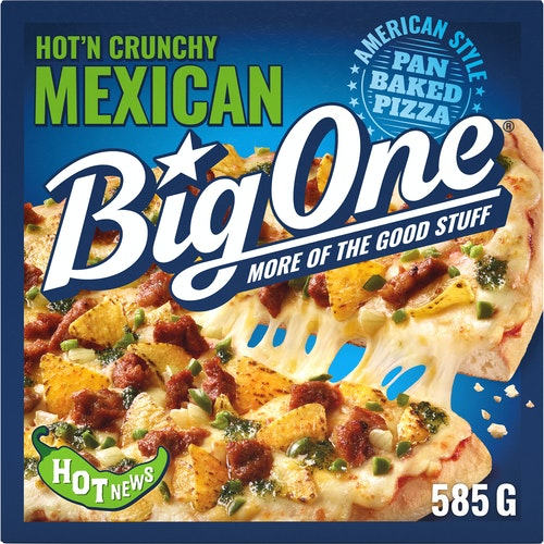 Big One Big One Mexican Pizza 585 g