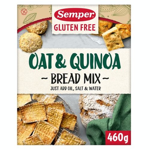 Semper Havre & Quinoa Brødmix 460 g