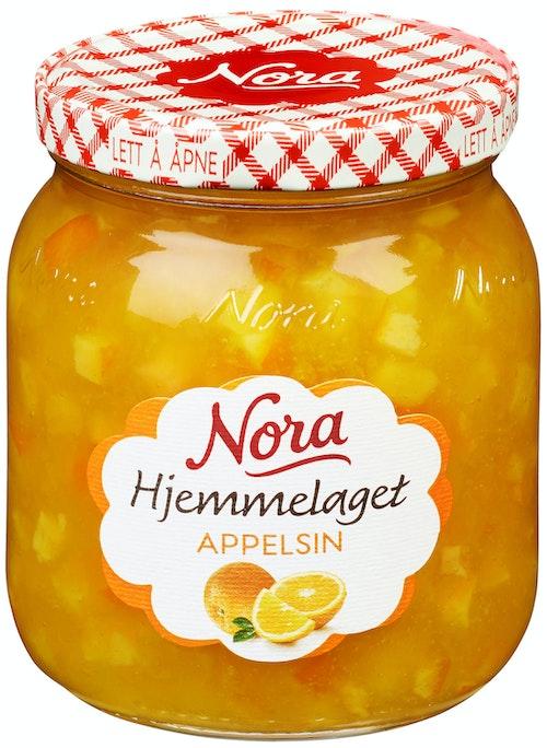 Nora Appelsinmarmelade Hjemmelaget 400 g