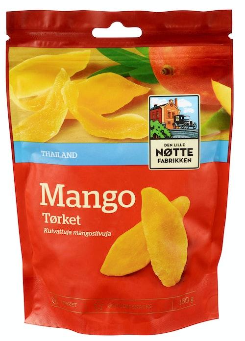 Den Lille Nøttefabrikken Mango Tørket 150 g