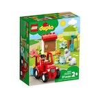 LEGO DUPLO Bondegård med traktor og dyr