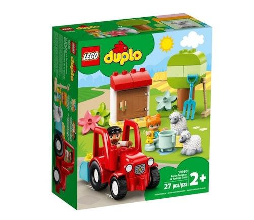 LEGO LEGO DUPLO Bondegård med traktor og dyr 1 stk