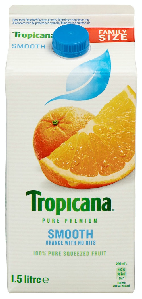 Tropicana Smooth Style Appelsinjuice 1,5 l