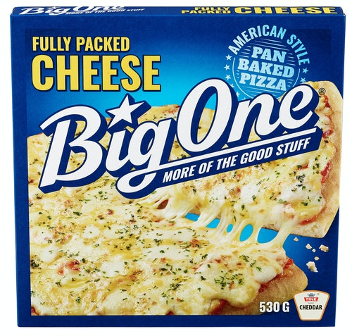 Big One Big One Cheese Pizza 530 g