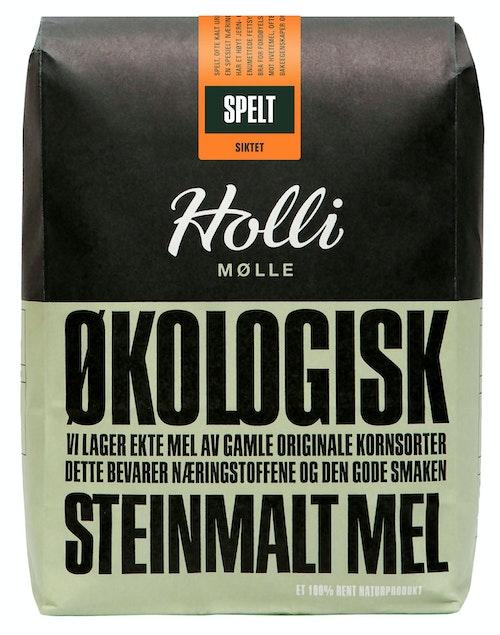 Holli Mølle Økologisk Speltmel Siktet 1 kg