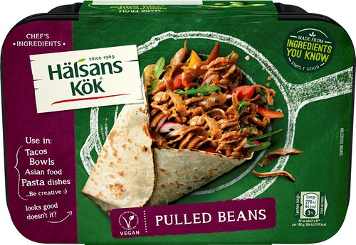Hälsans Kök Pulled Beans 230 g