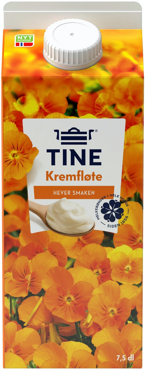 Tine TINE Kremfløte 38% 7,5 dl