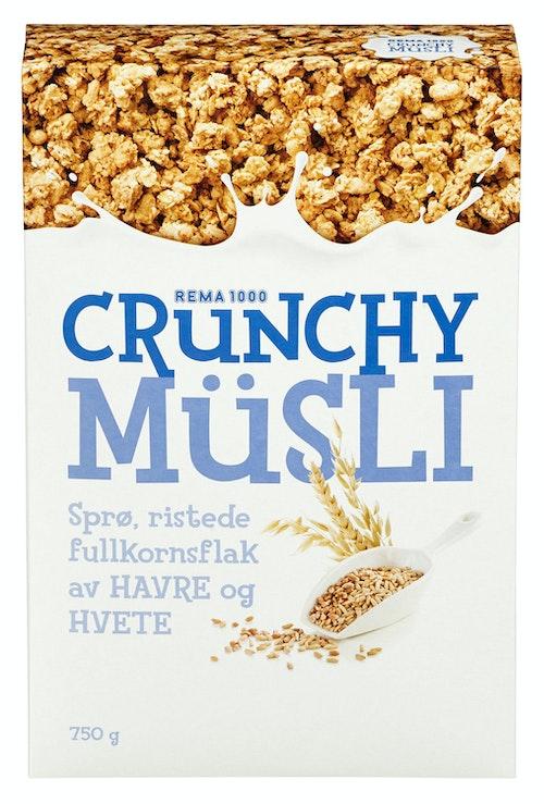 REMA 1000 Crunchy Müsli 750 g