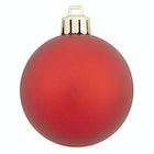 Juletrekuler rød