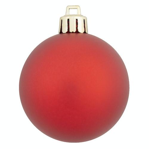 Juletrekuler rød 54 stk