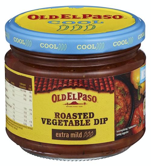Old El Paso Roasted Vegetable Dip 312 g