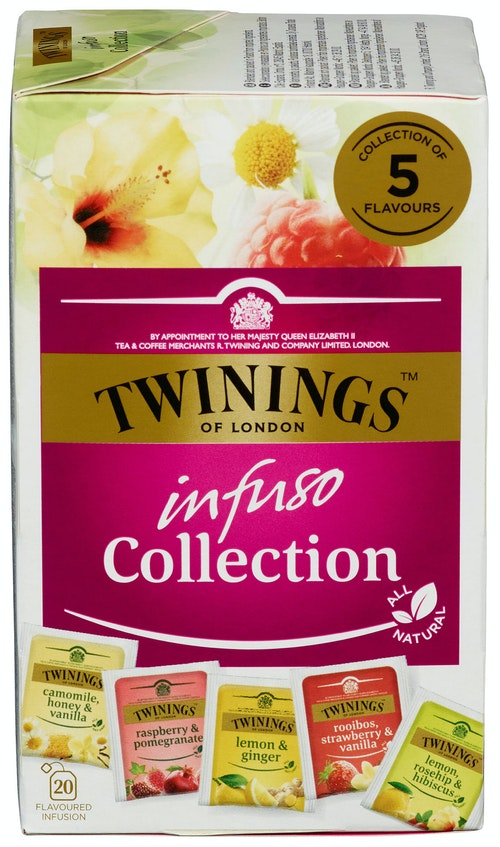 Twinings Infuso Collection 20 stk