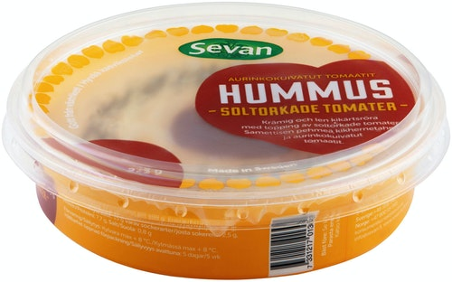 Sevan Hummus Med Soltørkede Tomater, 275 g