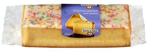 Dan Cake Sitronkake Med Glasur 350 g