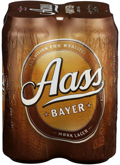 Aass Bryggeri Aass Bayer 4x0,5 liter, 2 l