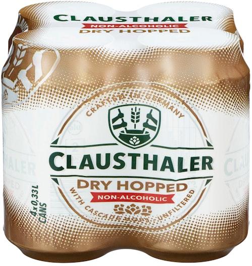Clausthaler Clausthaler Dry Hopped 4 x 0,33l, 1,32 l