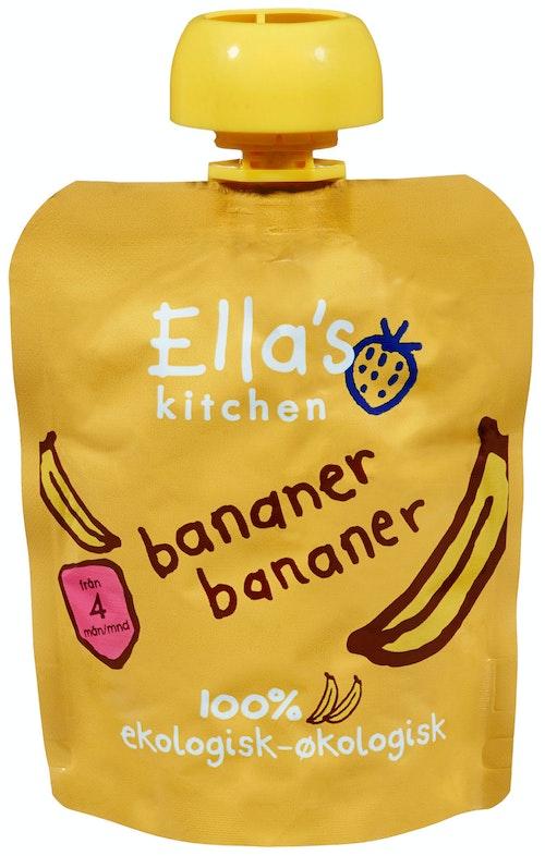 Ella's Kitchen Banan Banan Fra 4 mnd, 70 g