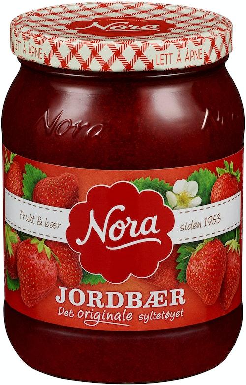 Nora Jordbærsyltetøy Originale 800 g