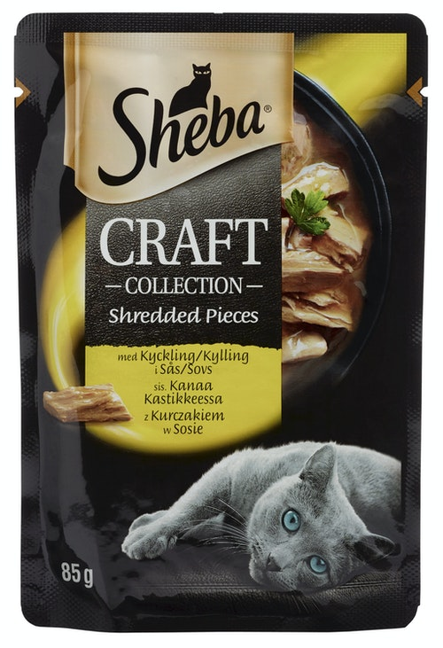 Sheba Sheba Craft Pouch Kylling 85 g