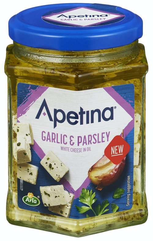 Apetina Hvitløk & Persille 265 g