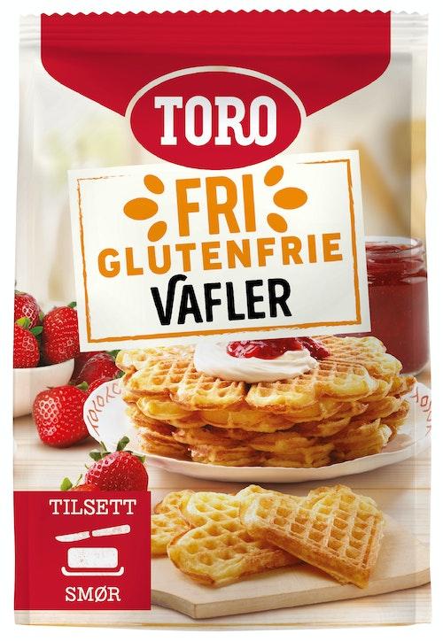 Toro Vafler Mix Glutenfri 242 g