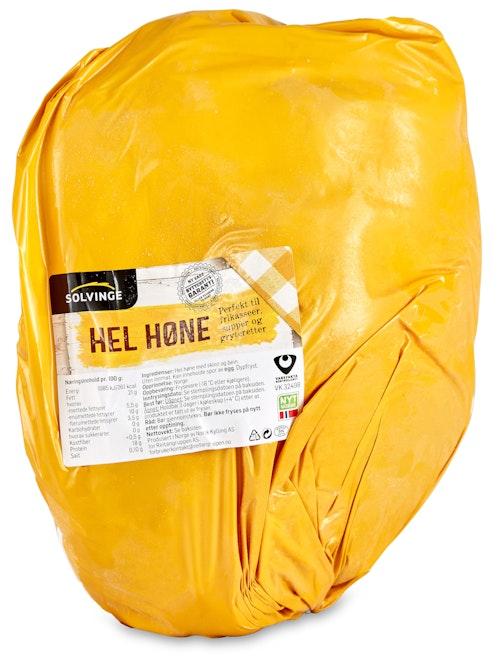 Solvinge Hel Høne Naturell 2 kg