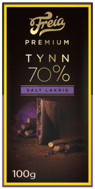 Freia Premium 70% Salt Lakris 100 g