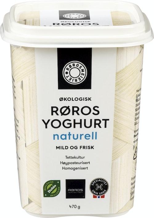 Rørosmeieriet Økologisk  Røros Yoghurt 450 g