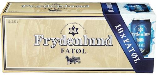 Frydenlund Frydenlund Fatøl 0,33 x 10 stk, 3,3 l