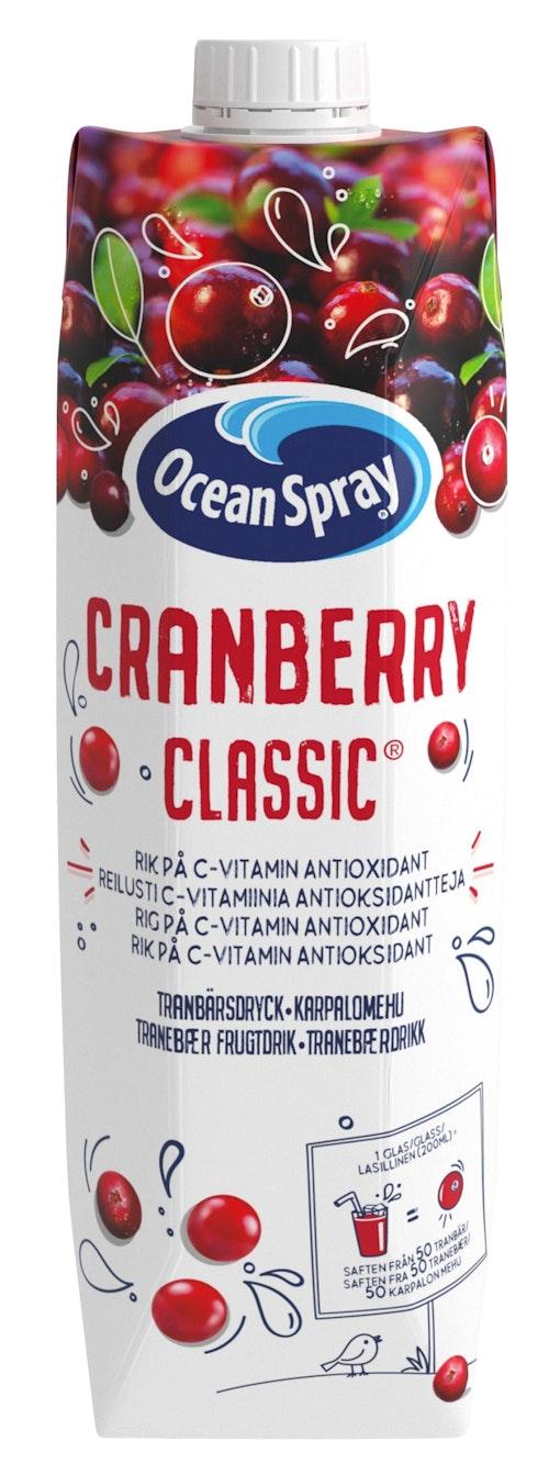 Ocean Spray Tranebærjuice 1 l