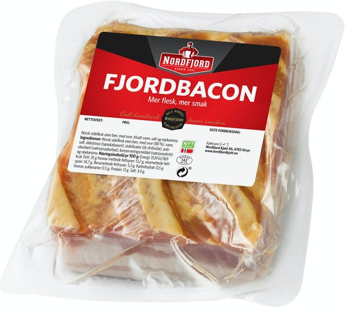 Nordfjord Fjordbacon ca. 700 g