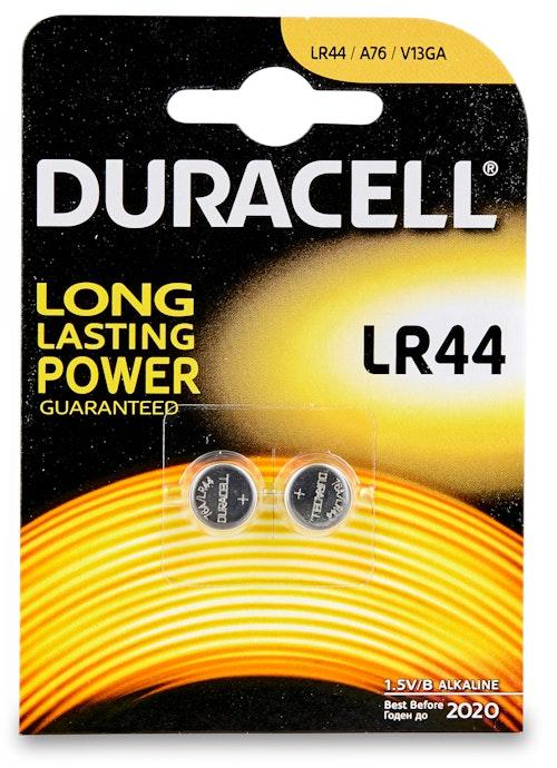 Duracell Batteri LR44 1,5V 2 stk