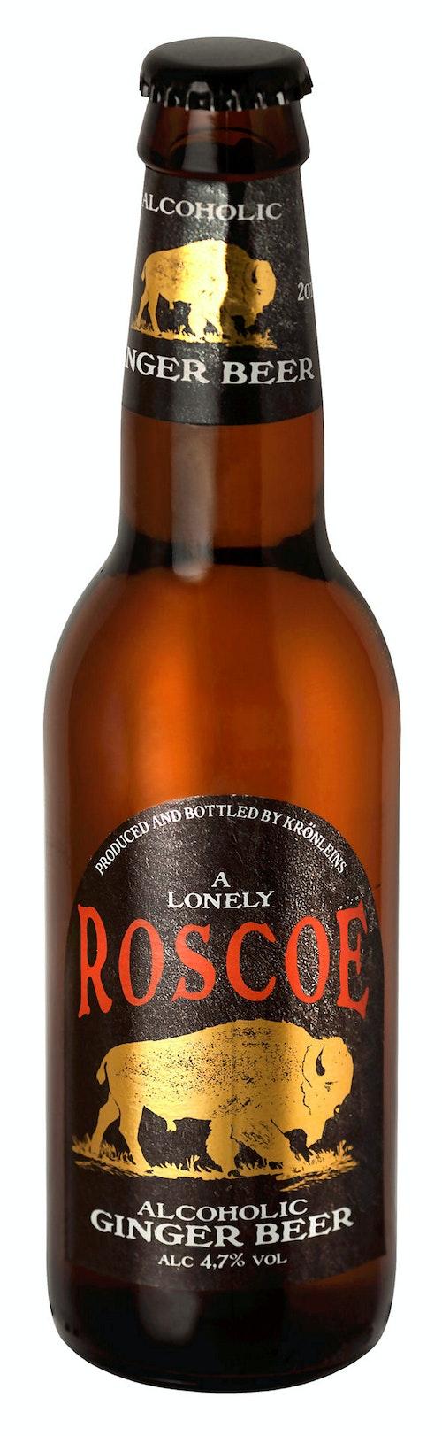 Halmstad Roscoe Ginger Beer 4,7%, 0,33 l