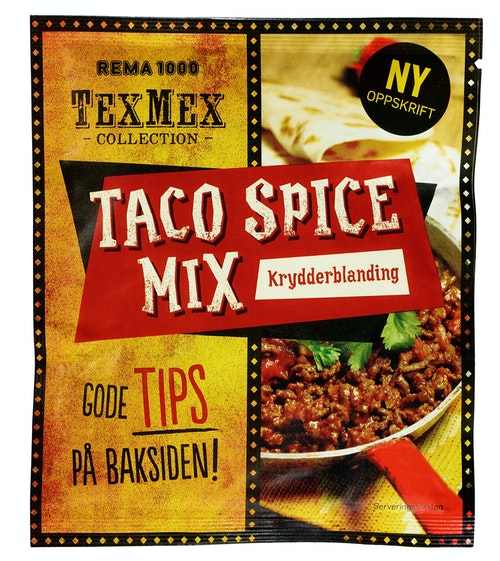 REMA 1000 Taco Spice Mix 40 g