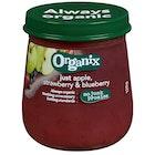 Organix Eple, Jordbær & Blåbær