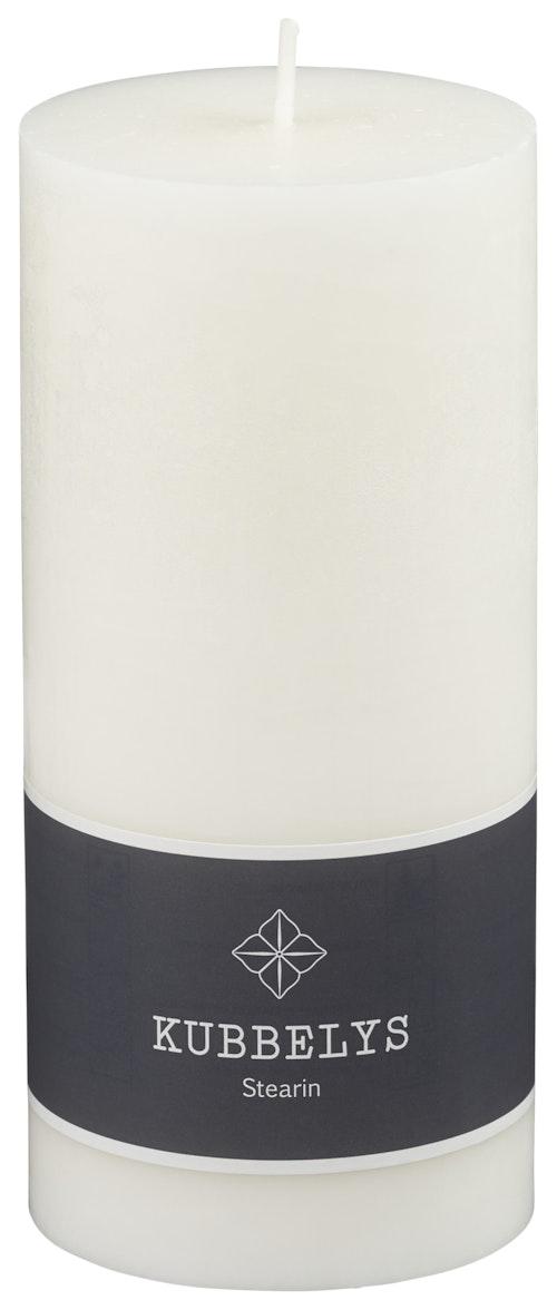 Kubbelys Ren Stearin 7x15cm, 1 stk