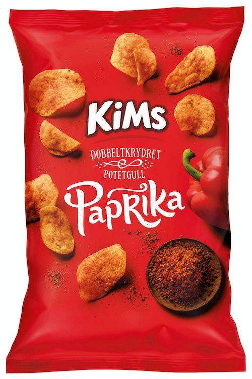 Kims Potetchips Paprika 250 g