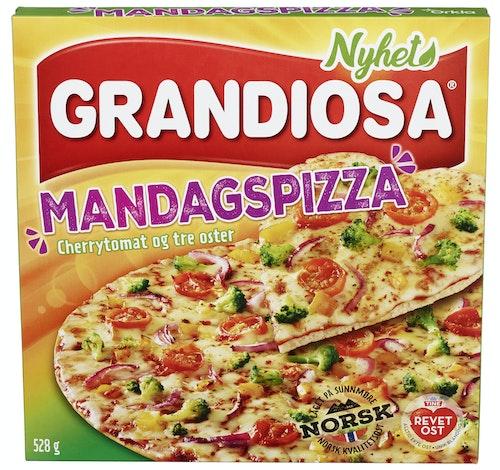 Grandiosa Grandiosa Mandagspizza 528 g